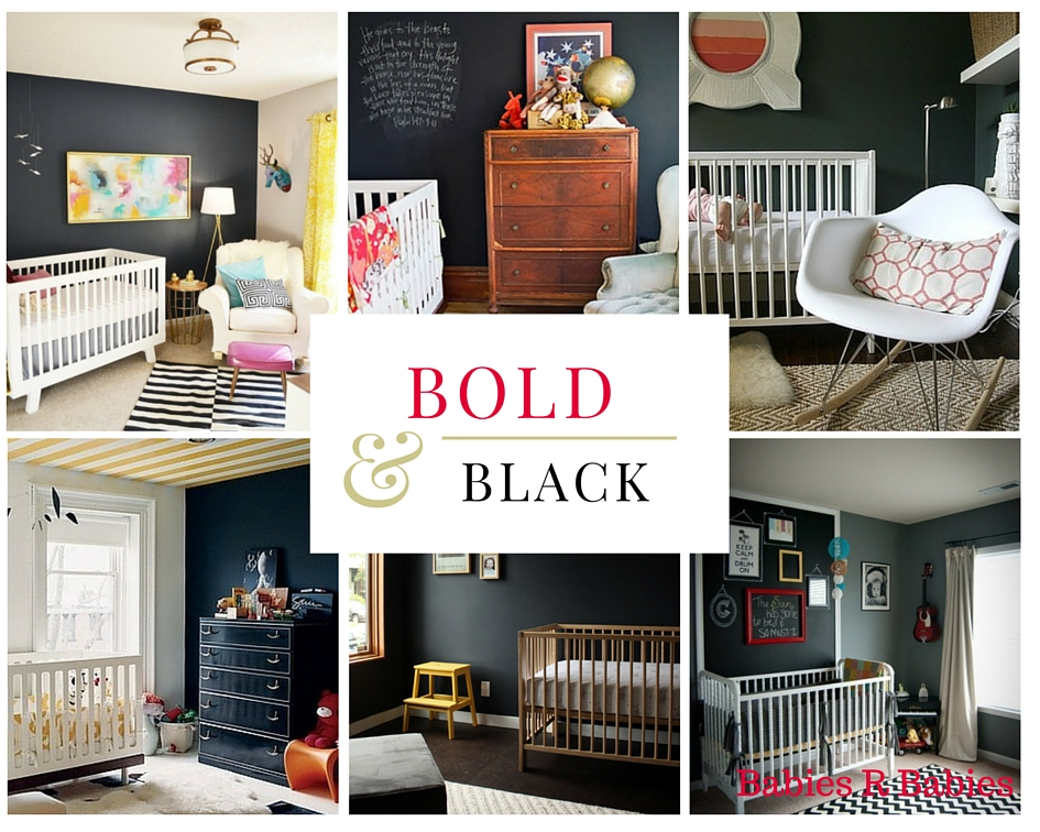 most beautiful black neutral baby nursery designs and ideas