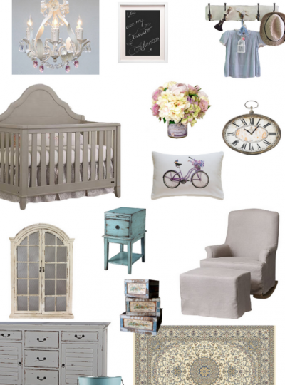 french country nursery design