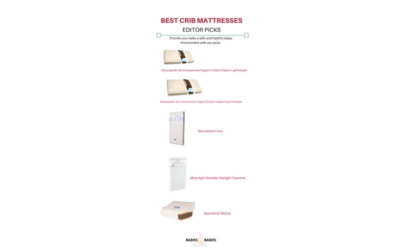 best crib mattresses:editor picks