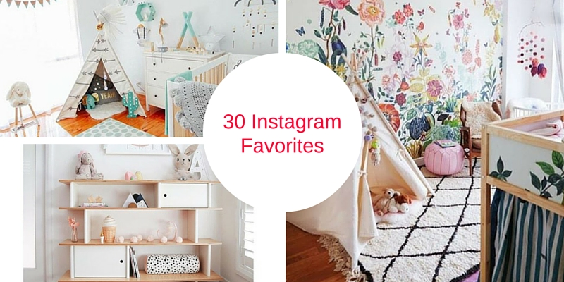 30 instagram baby nursery photos we are swooning over