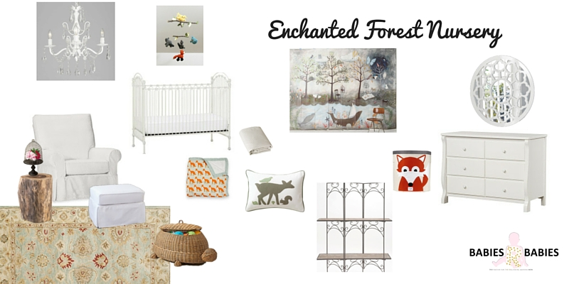 Enchanted Forest Nursery Design Board