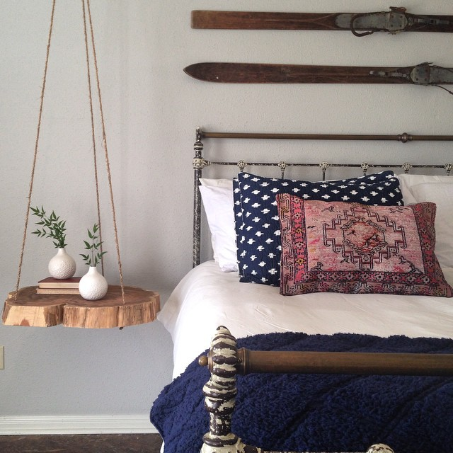 FIXER UPPER STYLE HANGING WOOD STUMPS