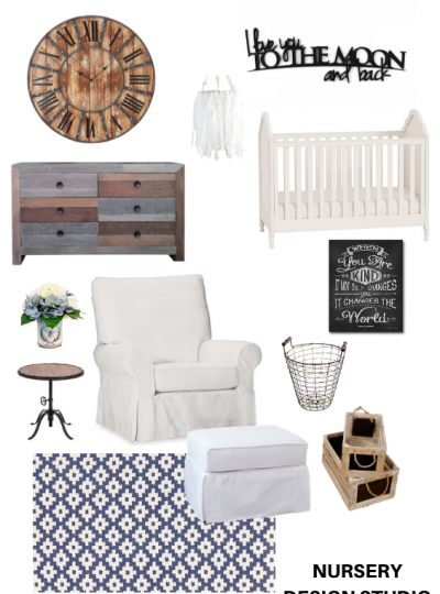 FIXER UPPER FARMHOUSE NURSERY