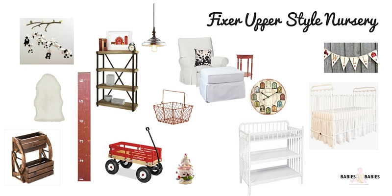 Fixer upper Country Chic Nursery