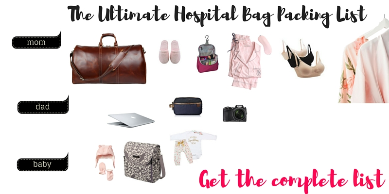 Hospital Bag Checklist for Pregnancy