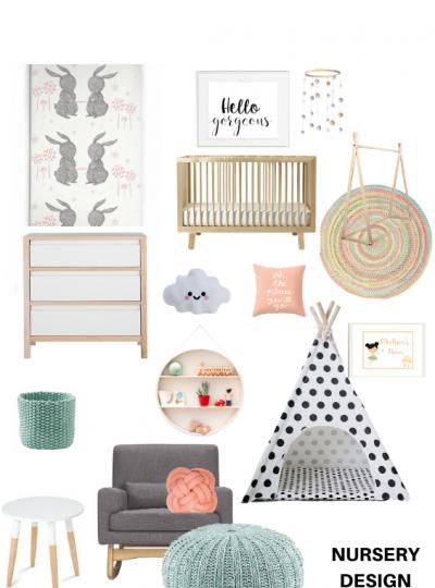 dreamy bunny nursery