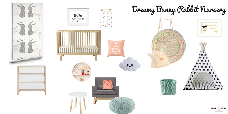 Dreamy Bunny Rabbit Nursery