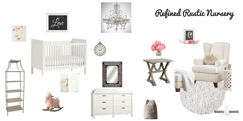 Refined Rustic Nursery
