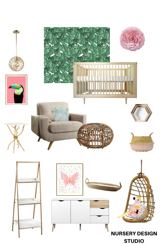 modern tropical nursery