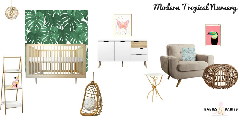 Modern Tropical Nursery