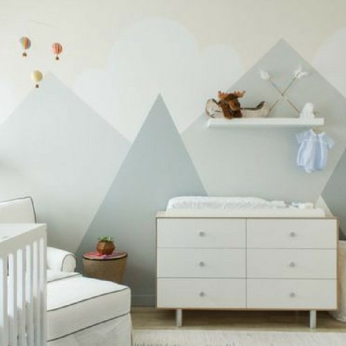 nursery design ideas for small spaces