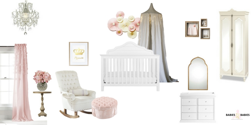 Princess nursery design