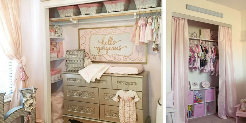 13 Incredibly organized baby nursery closet ideas