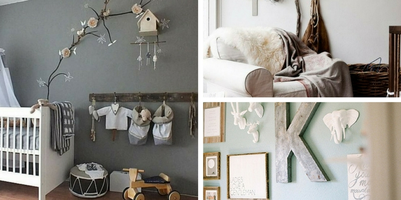 11 WAYS TO CREATE A  RUSTIC CHIC NURSERY