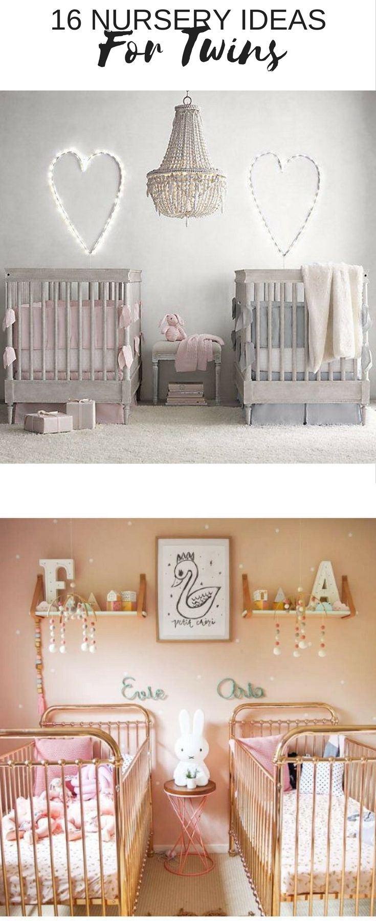 17 Gorgeous Twin Nursery Ideas Nursery Design Studio