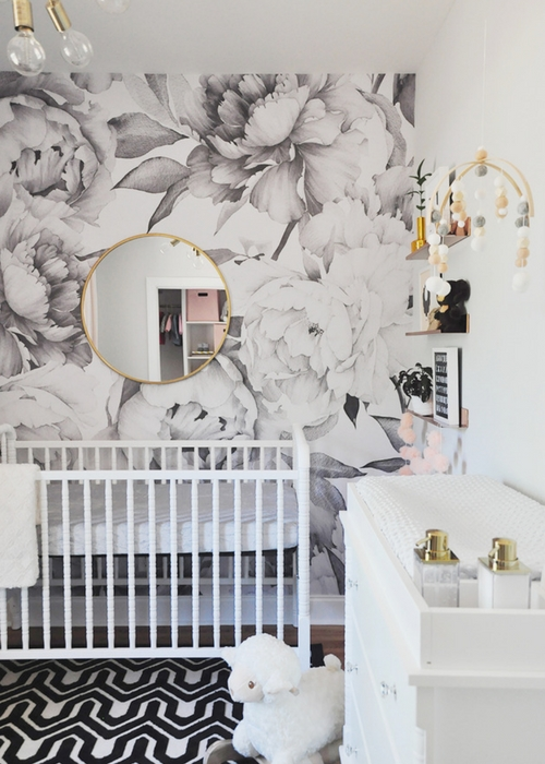 make nursery look expensive