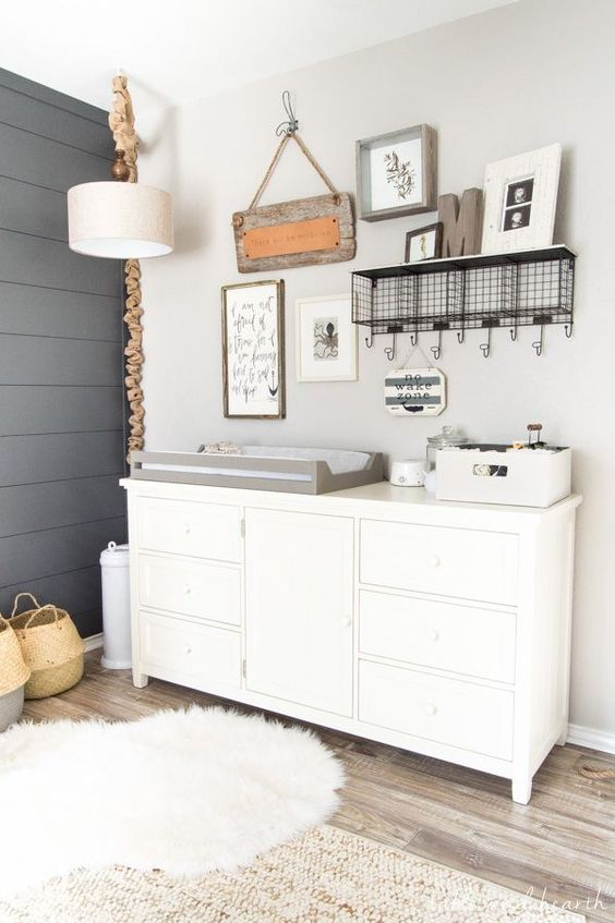 MODERN FARMHOUSE NURSERY IDEAS