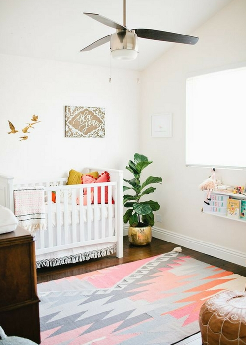 make nursery look expensive