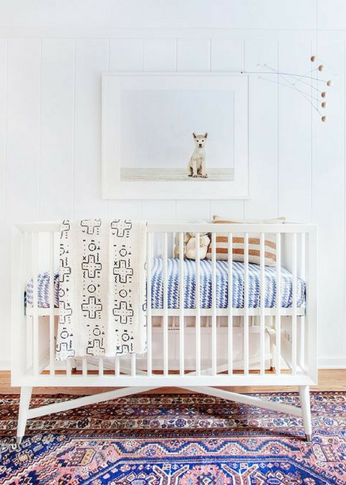 how to choose a rug for the baby's nursery