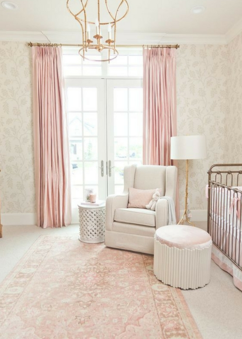 how to choose a rug for the nursery