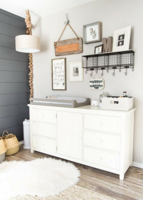Modern Farmhouse Nursery Ideas Plus 3 Design Boards