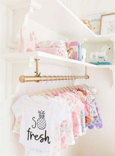 nursery organization ideas