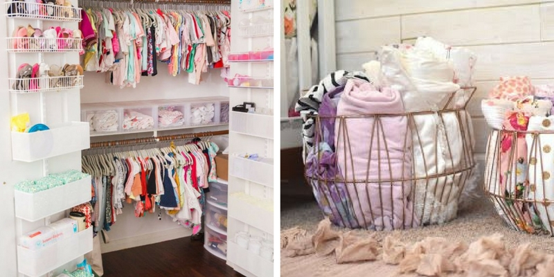 Clever & Stylish Nursery Organization ideas you'll love