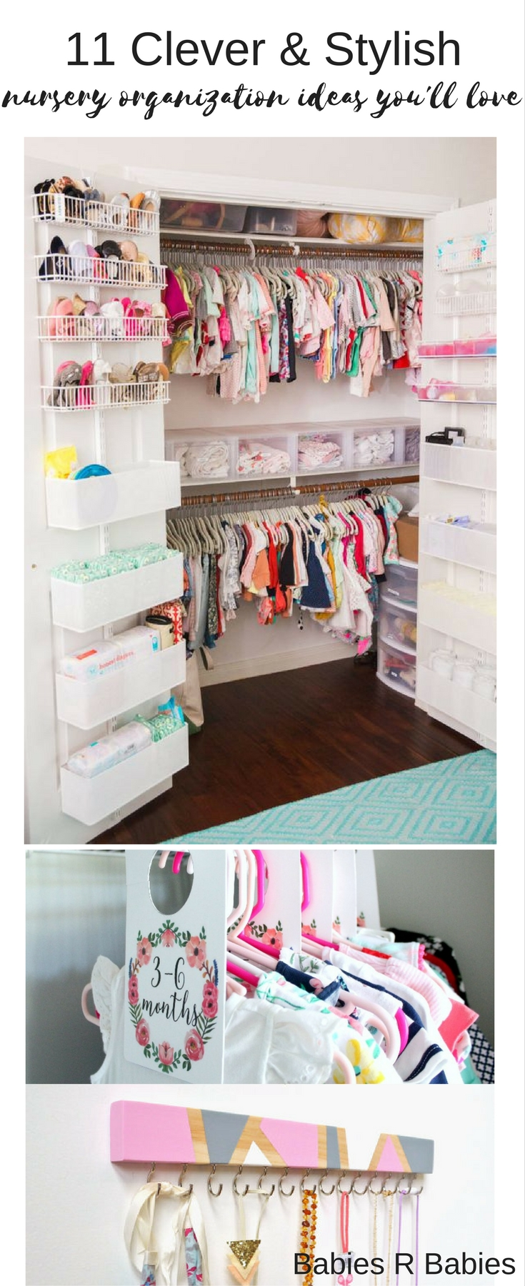 nursery organization ideas you'll love