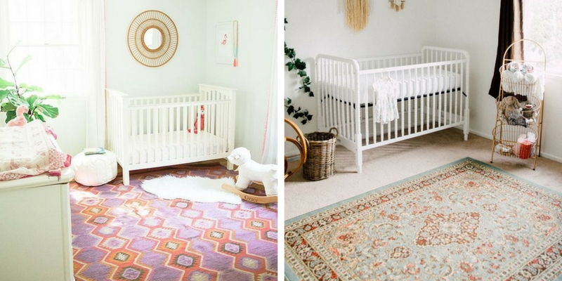 13 nursery designs with vintage rugs that will make you want one asap