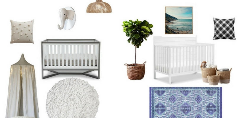 5 Stunning Baby Cribs under 200 dollars so you can create a dream nursery