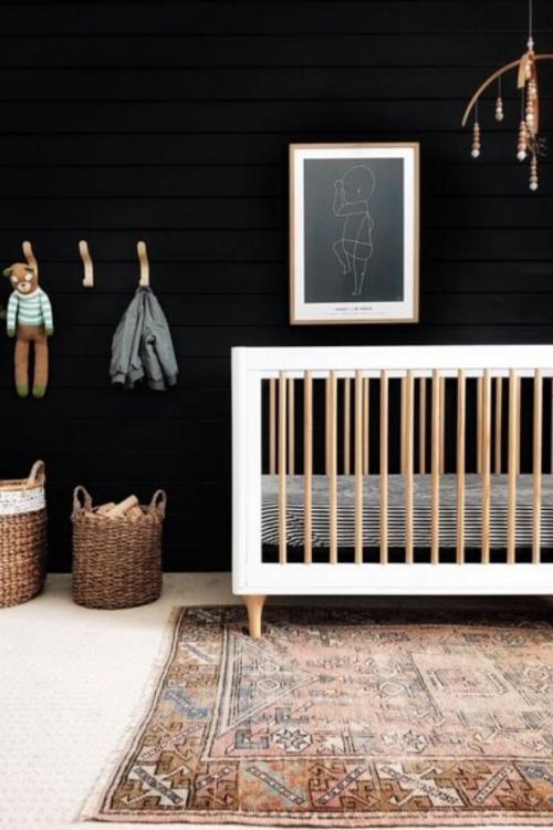 Black Nursery Ideas 5 Nursery Design Studio