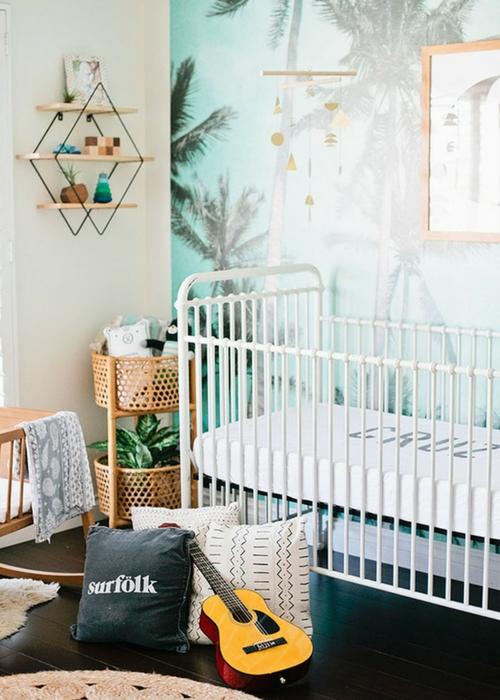 Modern coastal Nursery ideas