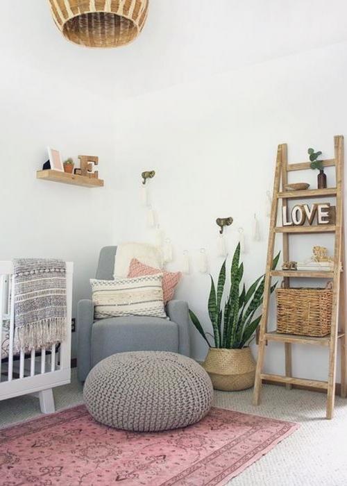 vintage rugs in nursery design