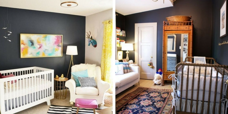 13 Gorgeous ways to work black into your nursery design