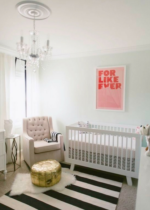 black paint in nursery designs
