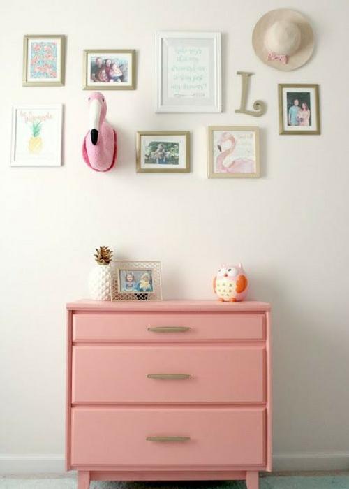 pink flamingo nursery