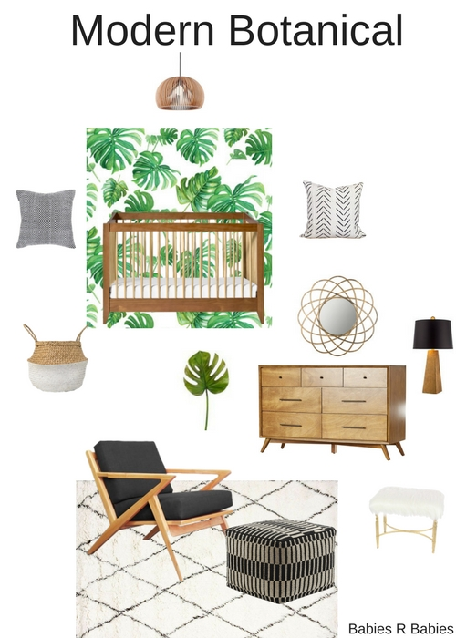 green nursery design ideas