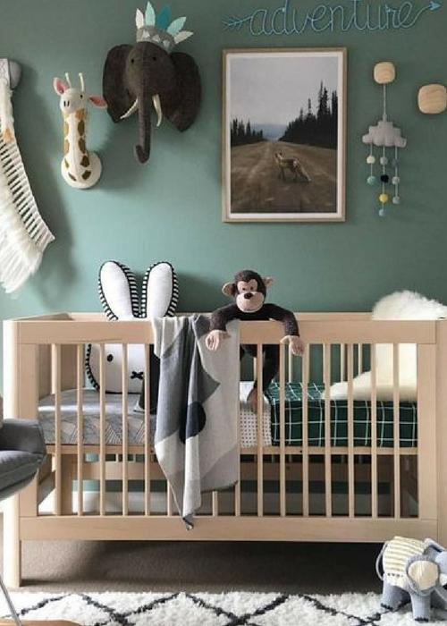 21 Green Nursery Designs