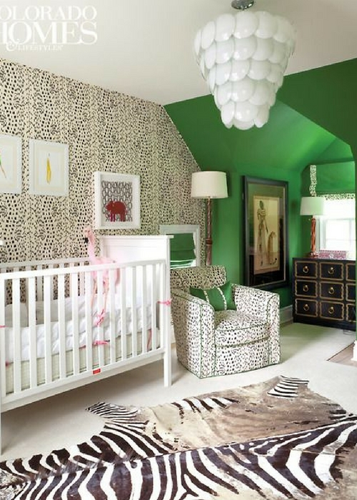 21 Green Nursery Designs with Huge Style