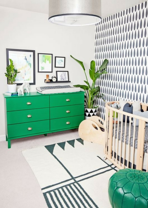 21 green nursery designs