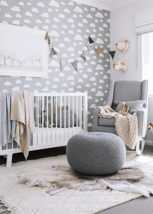 Painting Ideas For Baby Boys Room: Designing A Gender Neutral Nursery