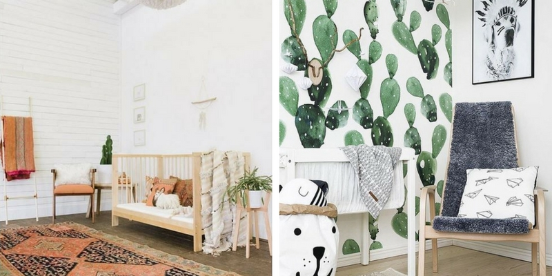 11 Genius Tips for Decorating a Nursery in a Rental House