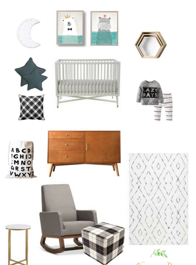 Get the Look: Lazy Days Cozy Nursery