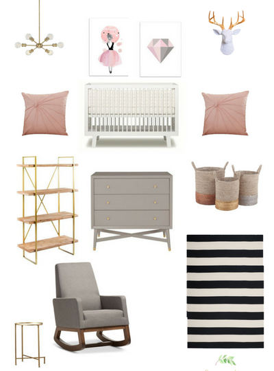 Get the Look: Pretty In Pink Nursery