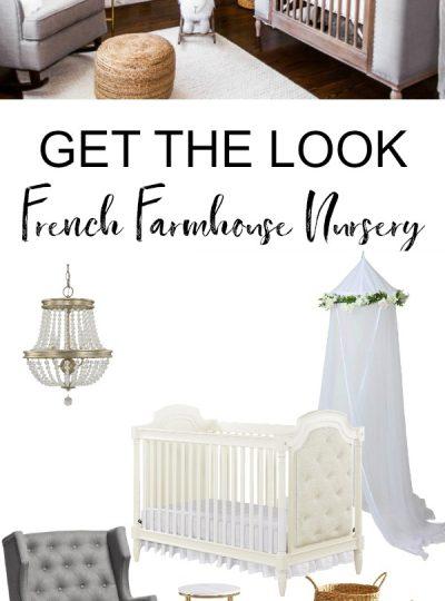 french farmhouse nursery