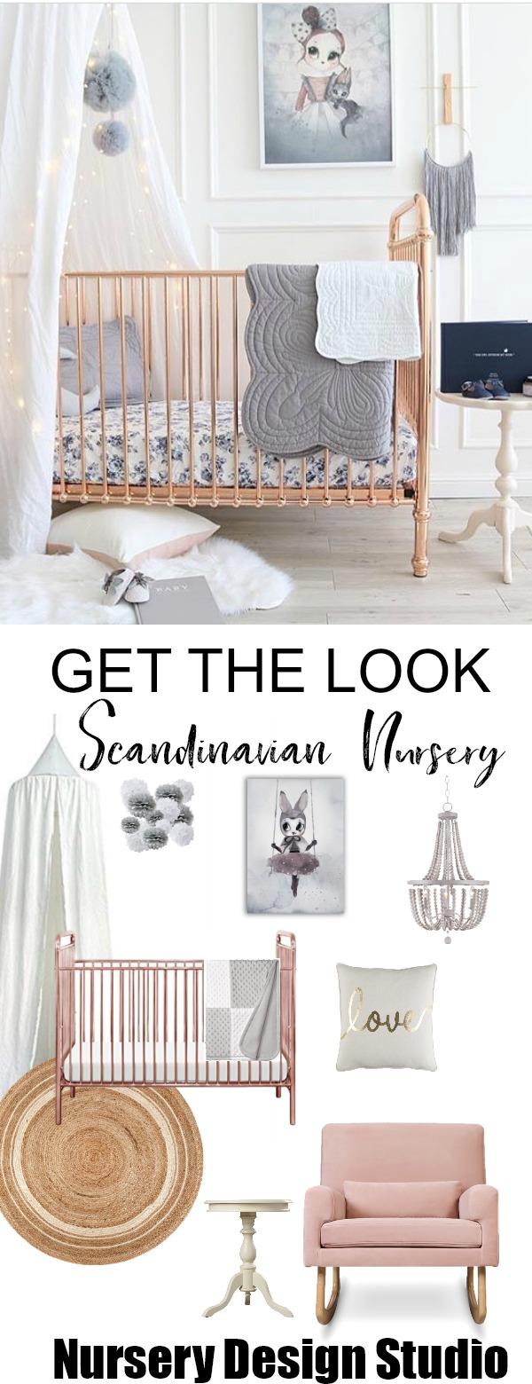 Get The Look Dreamy Scandinavian Children S Room