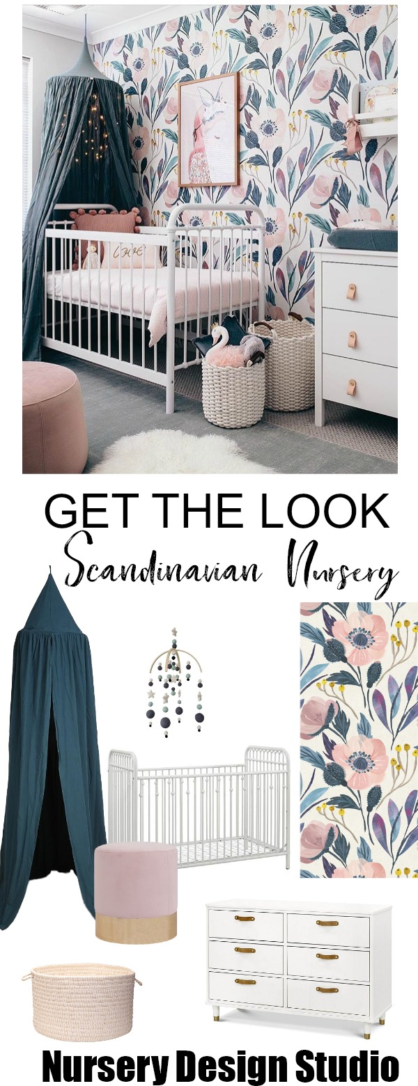 SCANDINAVIAN NURSERY FOR GIRL