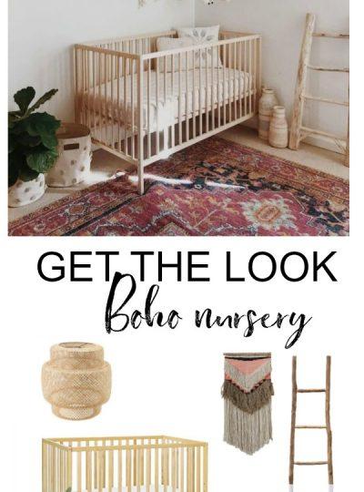 boho chic nursery