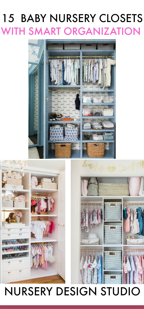 best nursery closets with smart organization