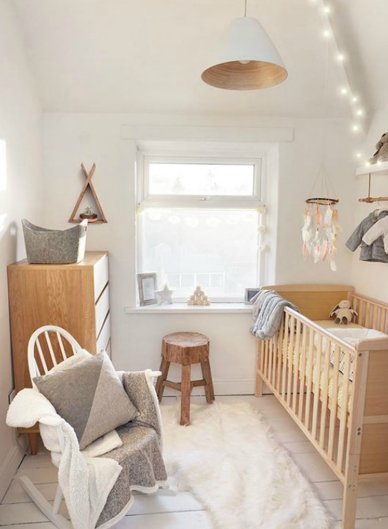 HOW TO DESIGN A SMALL NURSERY